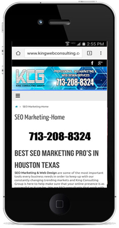 responsive web sites houston